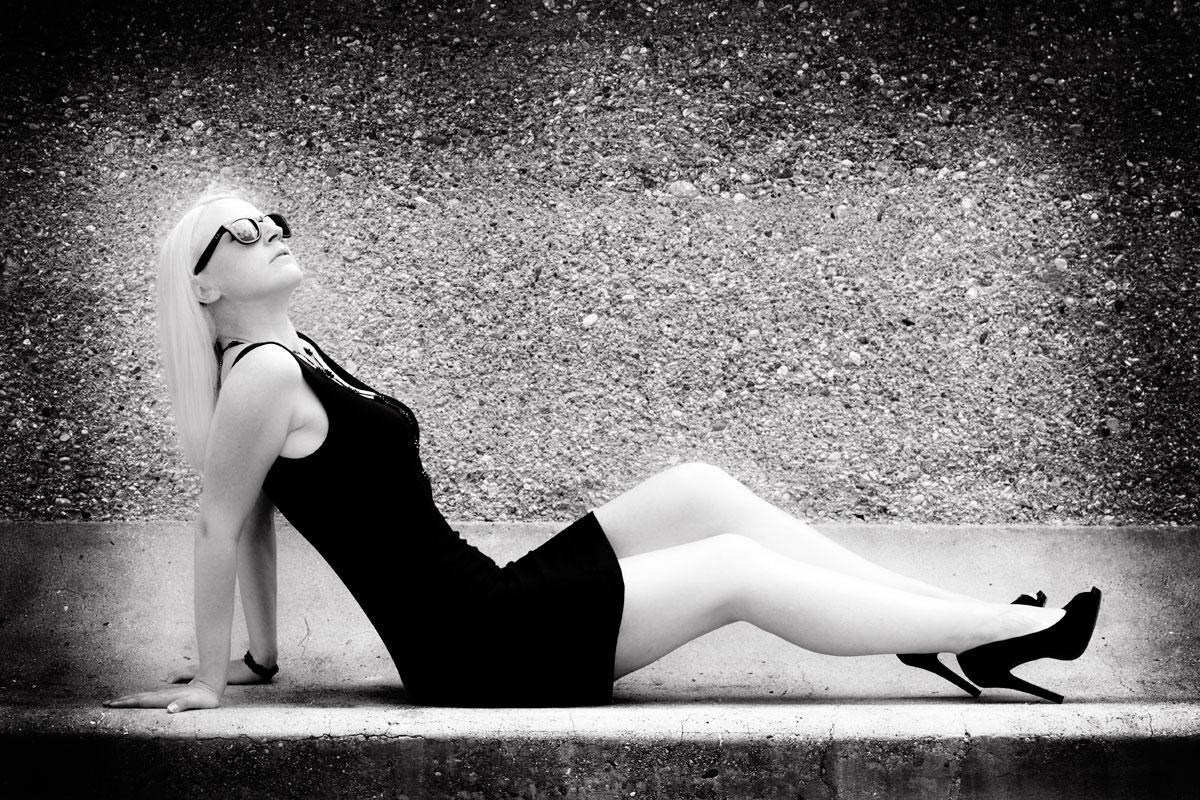 Bauty-Fotoshooting Birgit by Emmanuelle Wood