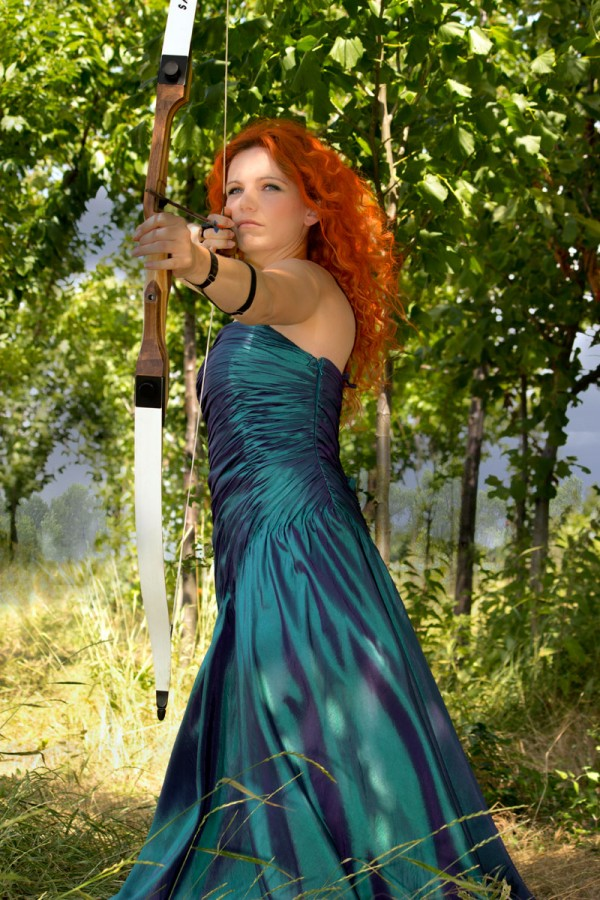 Princess Photoshooting - Merida 2 by Emmanuelle Wood
