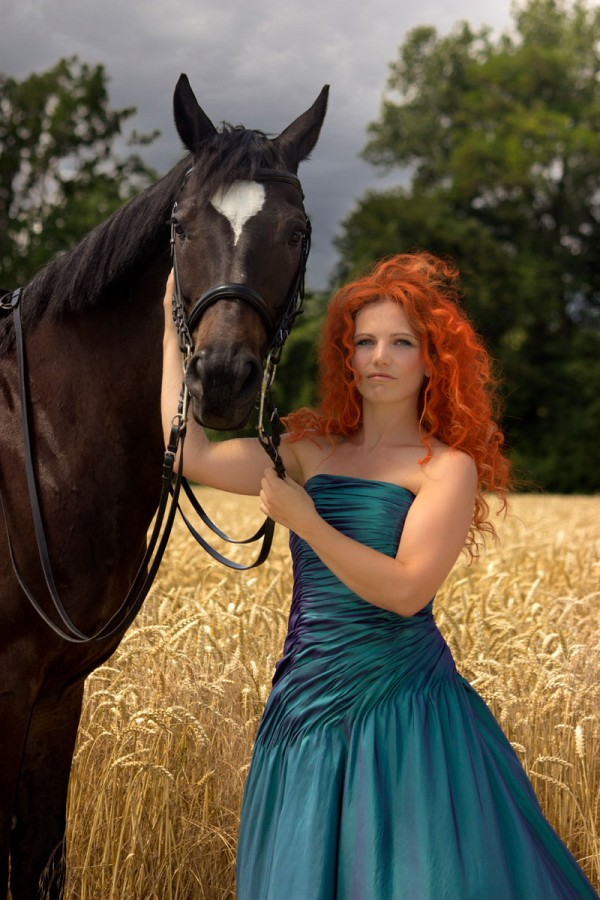 Princess Photoshooting - Merida by Emmanuelle Wood