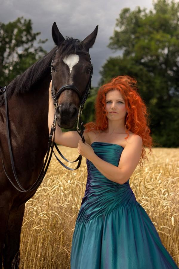 Princess Photoshooting - Merida by Emmanuelle Wood