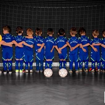 Sportmannschaften-Fotoshooting